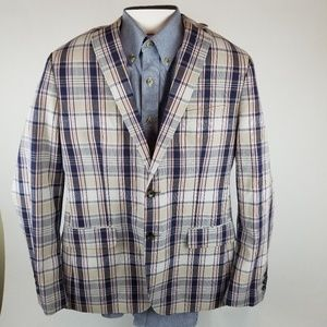 Banana Republic Mad Men collection sports coat